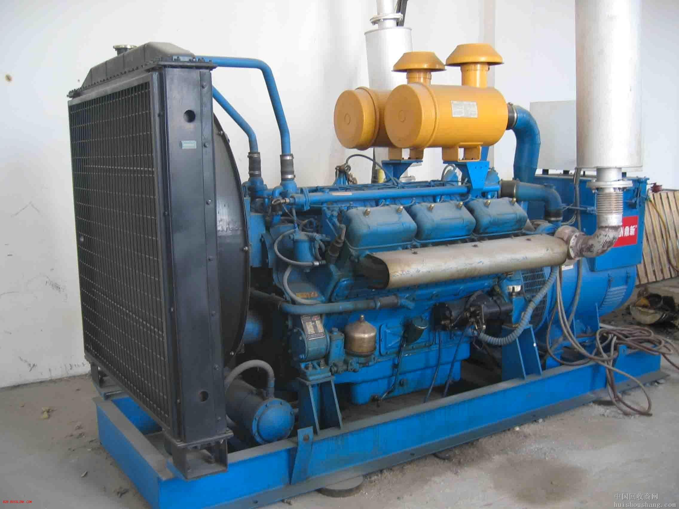 合肥蓝色二手发电机出售