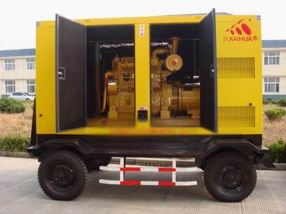 合肥应急发电机-300kw移动静音发电机组