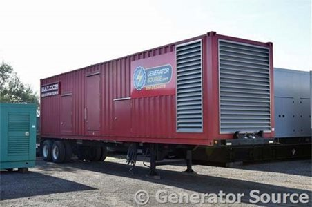 Baldor 800 kW 便携式发电机