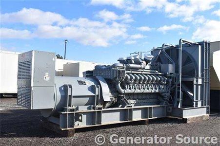 MTU 3000 kW 室内发电机