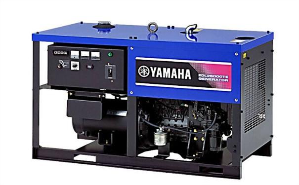 合肥二手雅马哈12kw小型柴油发电机组