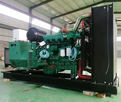 合肥瓯海县泰豪500kw大型柴油发电机组