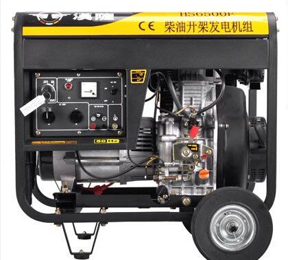 合肥巢湖二手上柴5kw小型柴油发电机