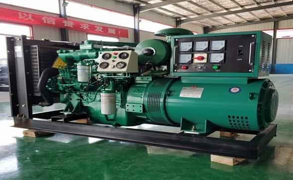 合肥庐江本田300kw大型柴油发电机组